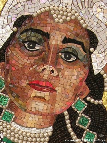 ... True Identity – Mosaic Portrait – Lilian Broca | Mosaic Art Source