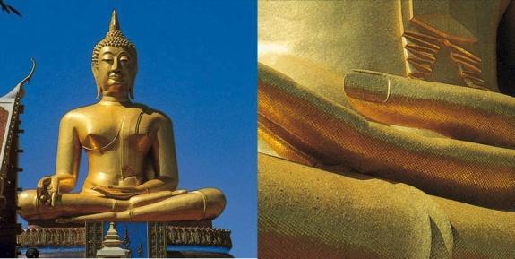 orsoni mosaic gold buddha thailand