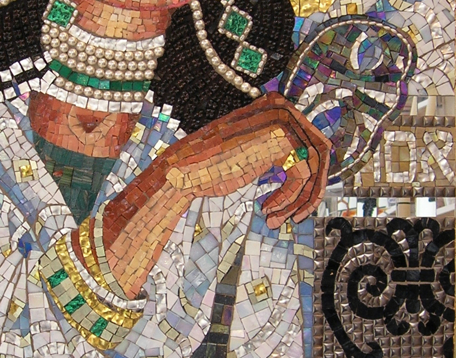 Mosaic art source inspiration for creative mosaic for Drawing mosaic pictures